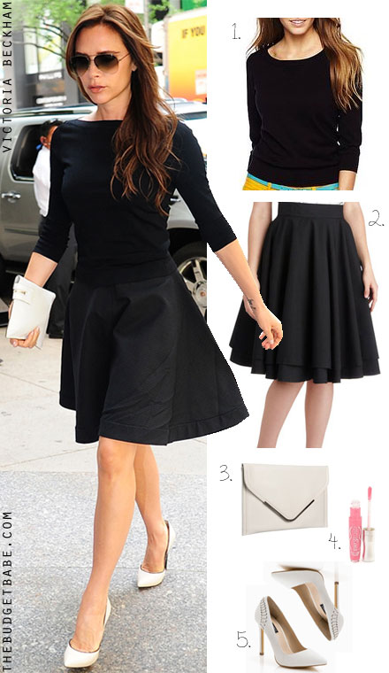 See Posh S Style In Black Paired With White